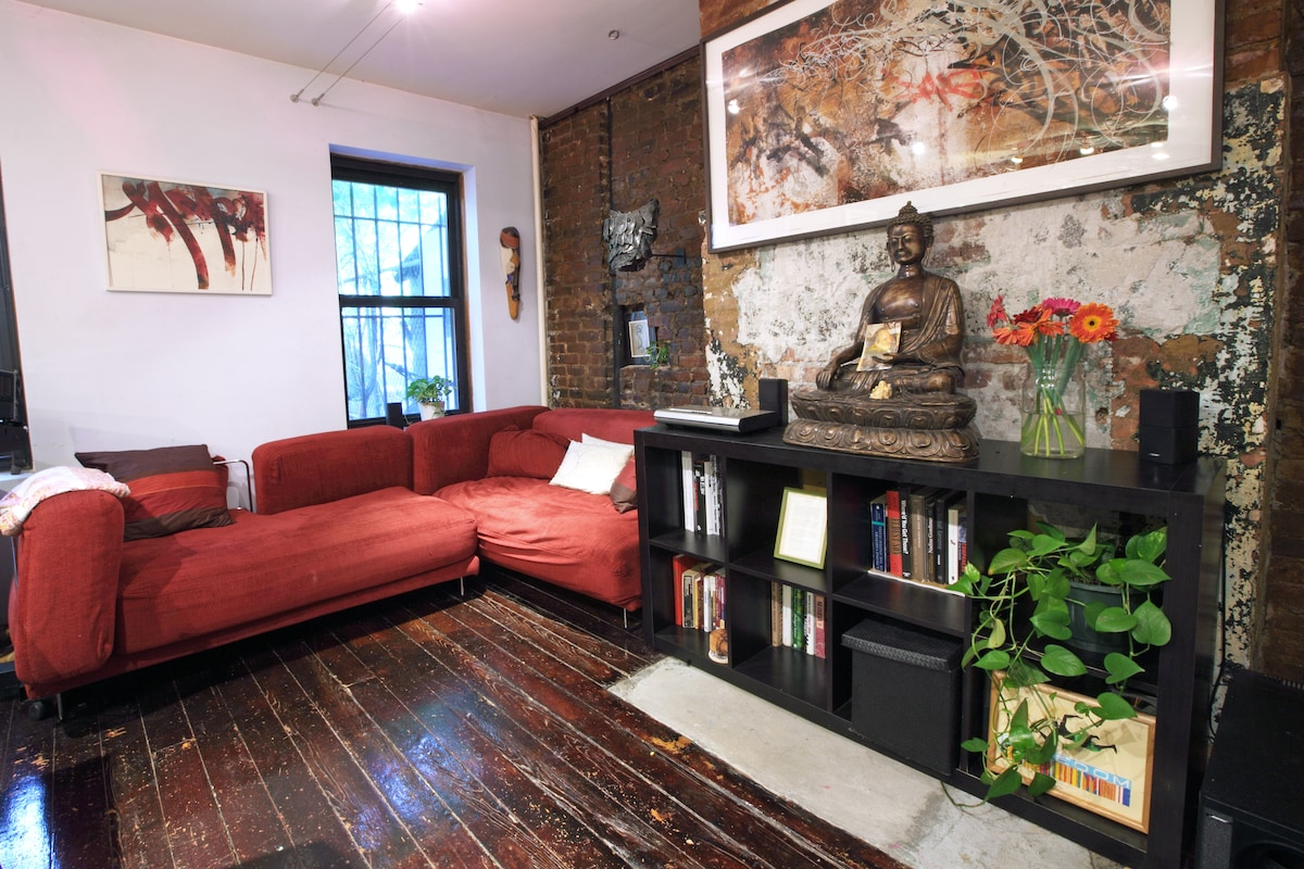 Beautiful Bedstuy Garden Apartment