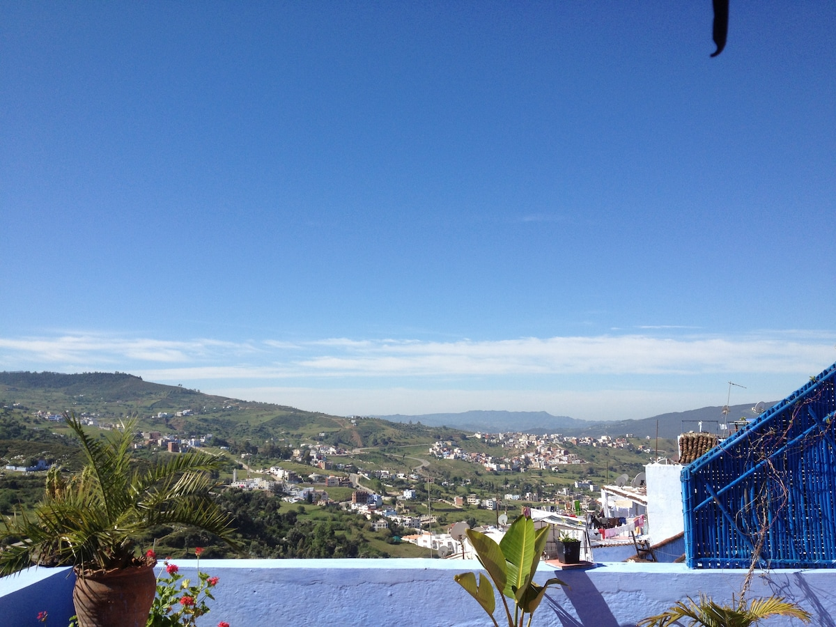The best panorama on Chefchaouen
