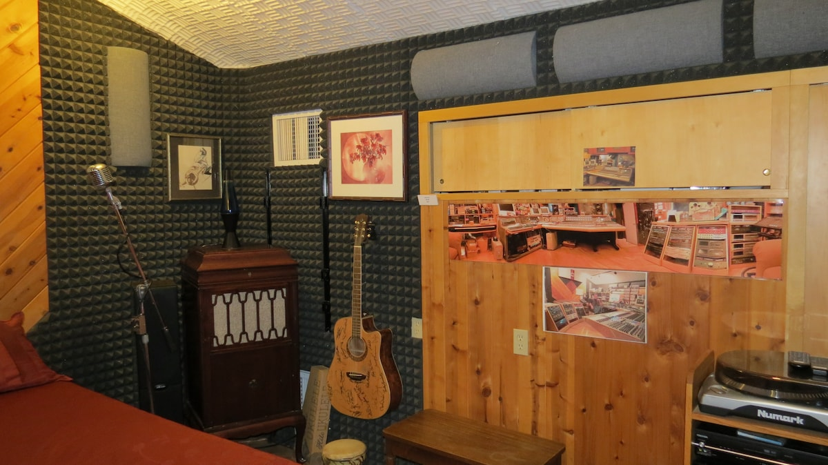 Phonographs, Instruments and Fun in The Control Room