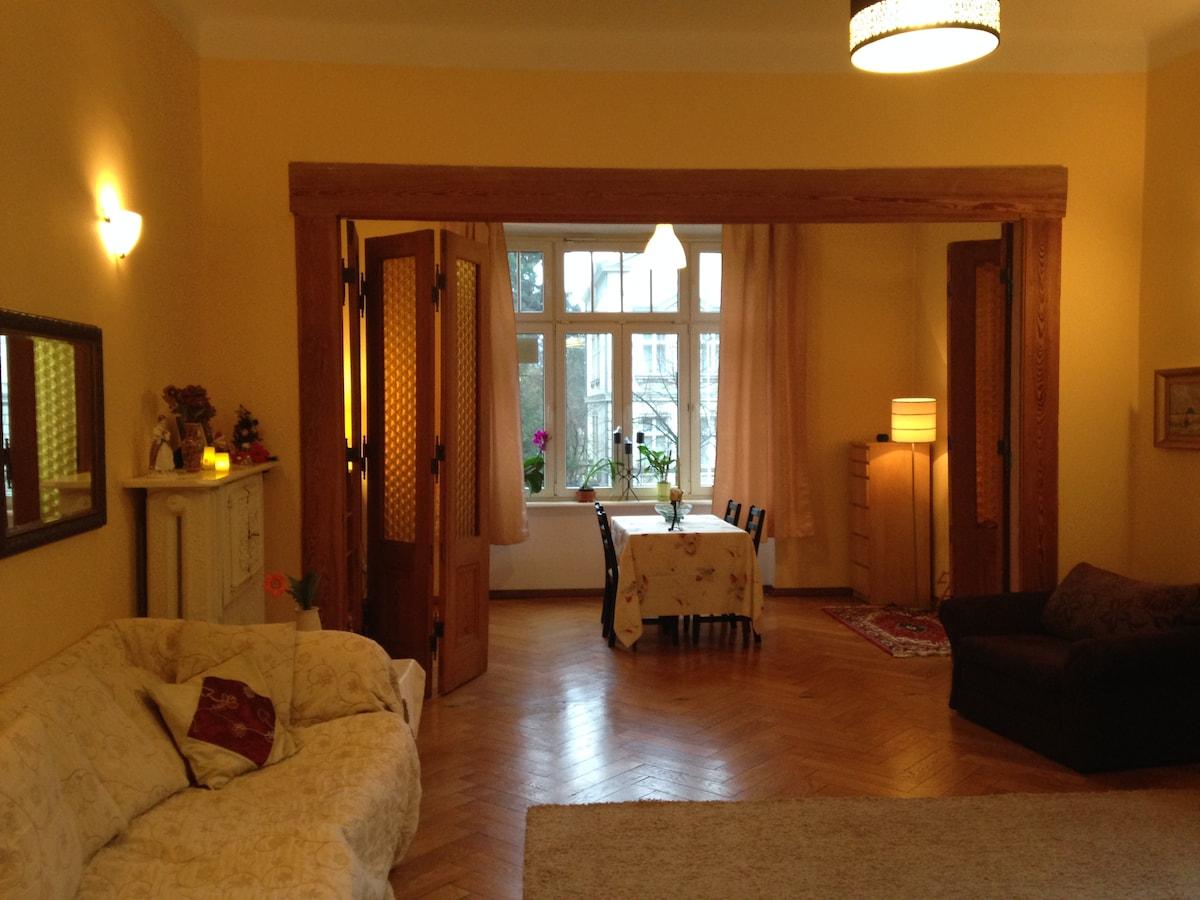 Spacious apartment, great location