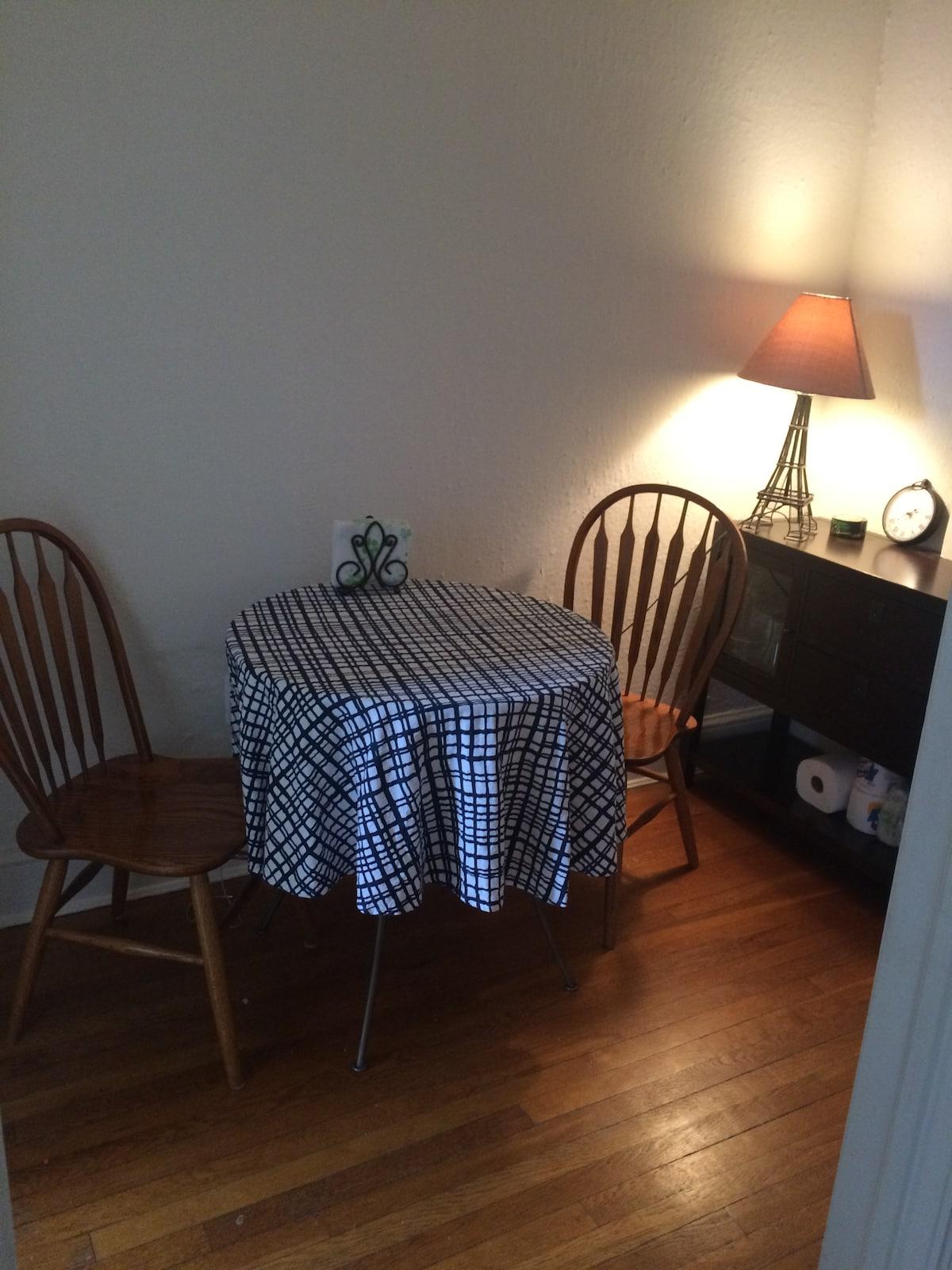 Georgetown clean & neat 1 bedroom