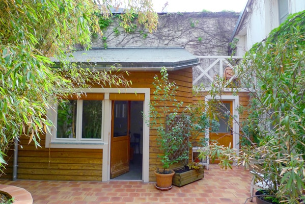 The little house in our private courtyard