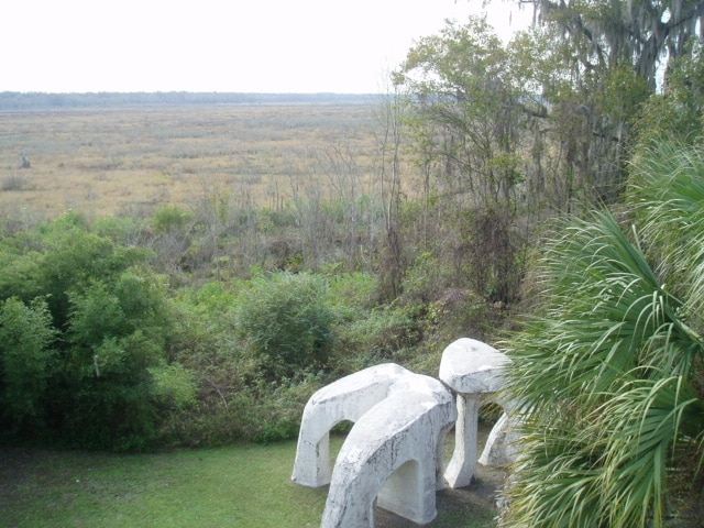 Your front yard ... 5,000 acres of virgin prairie / Federal bird sanctuary preserves (and 40 foot sculpture).