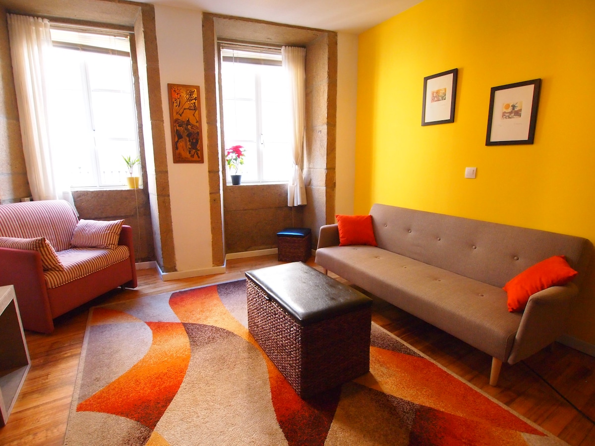 Historic Center, Spacious Apartment