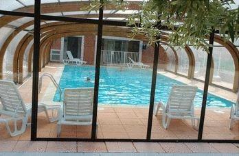 Maison + piscines couverte et ext.