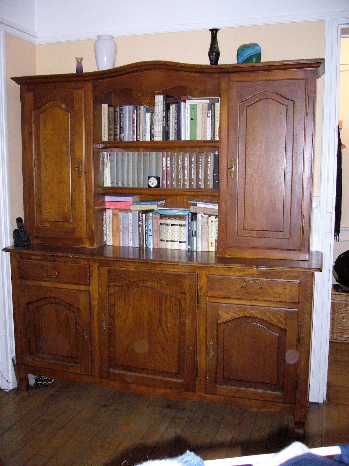 An old library-cupboard