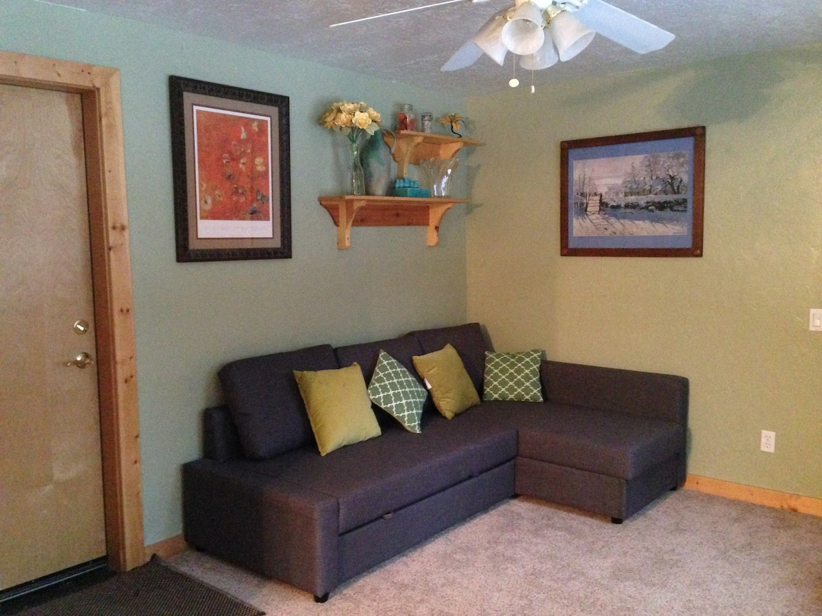 Cozy apartment near the lake