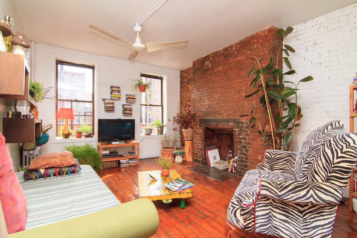 huge charming apt loft east village