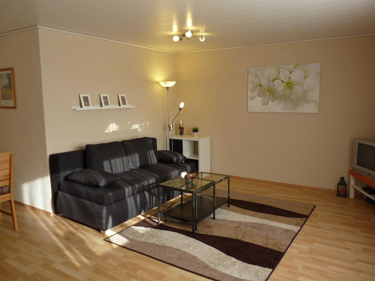 Apartment mit Terrasse & Garten
