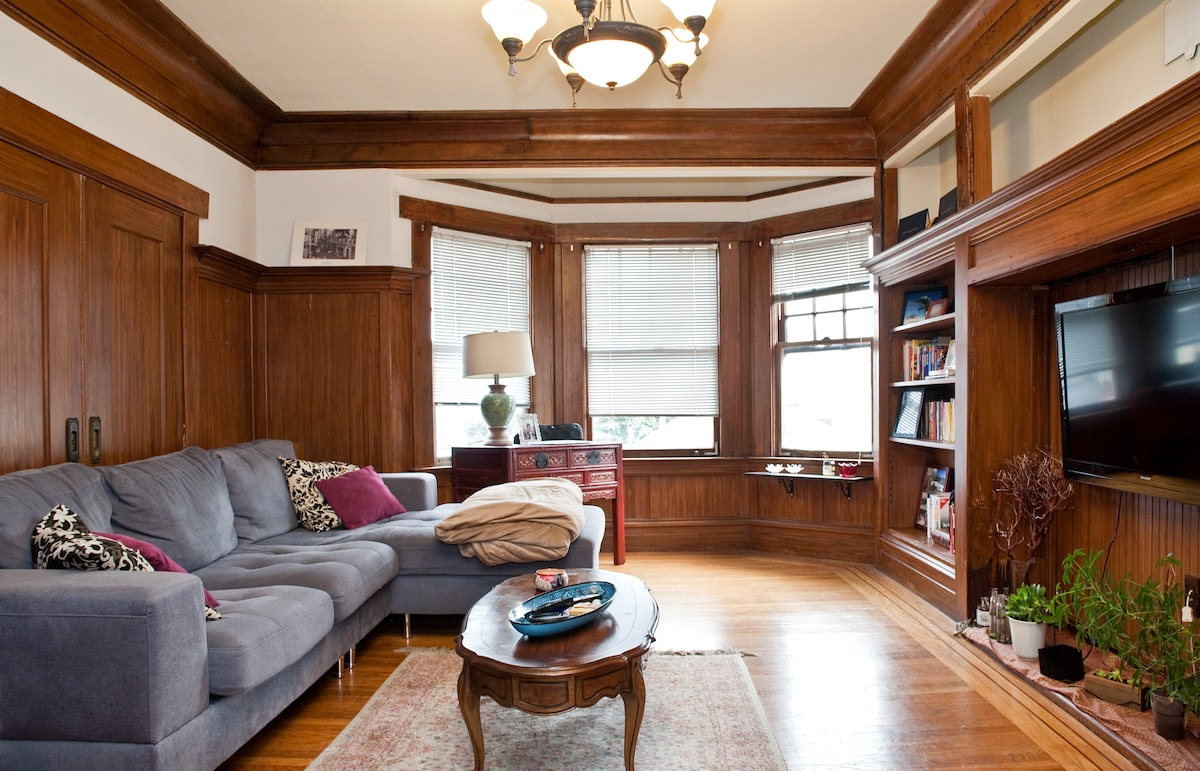 Spacious 1BD in Lower Pac Heights