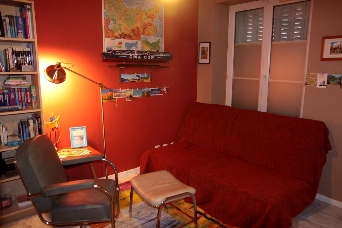 Jolie chambre dans F1 GARE SNCF