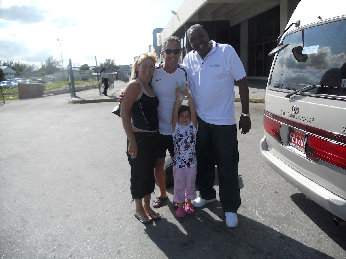 Taking this family to see Negril in the west.