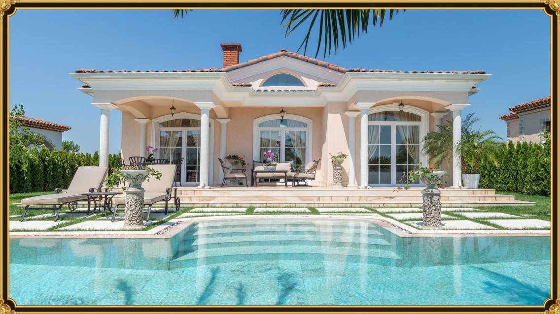 Luxury Villa Via Dolce - Back Sea
