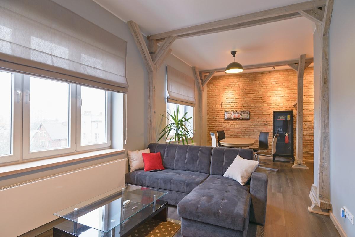 Cichy i nowoczesny apartament