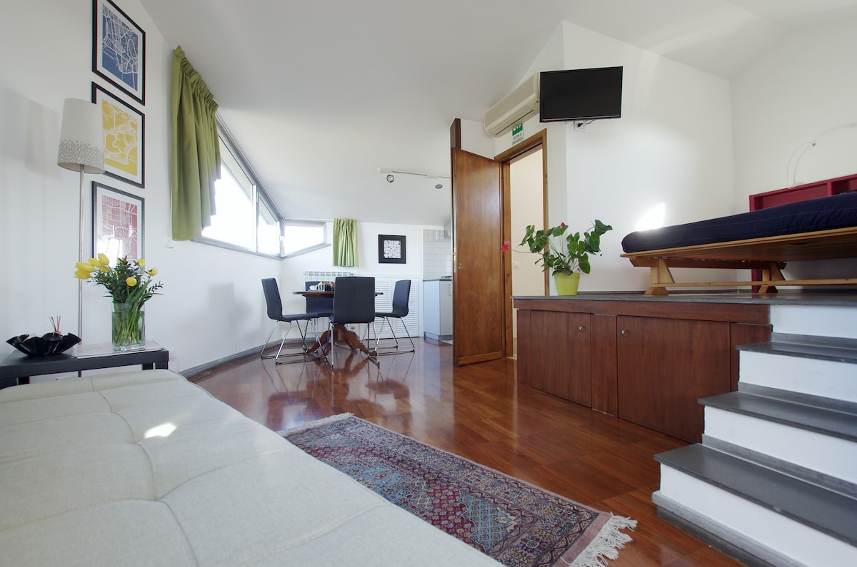 Charming studio apt. near Vatican