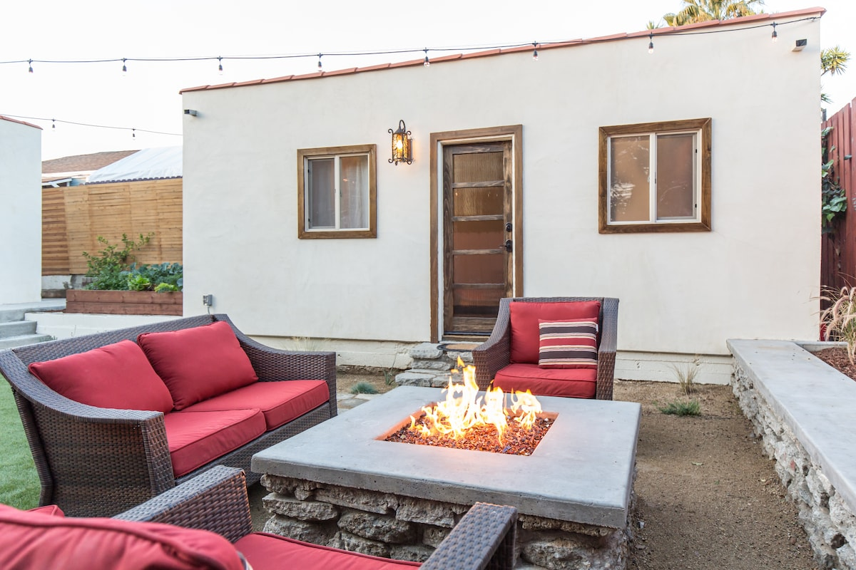 Private Guest House - AC & Firepit