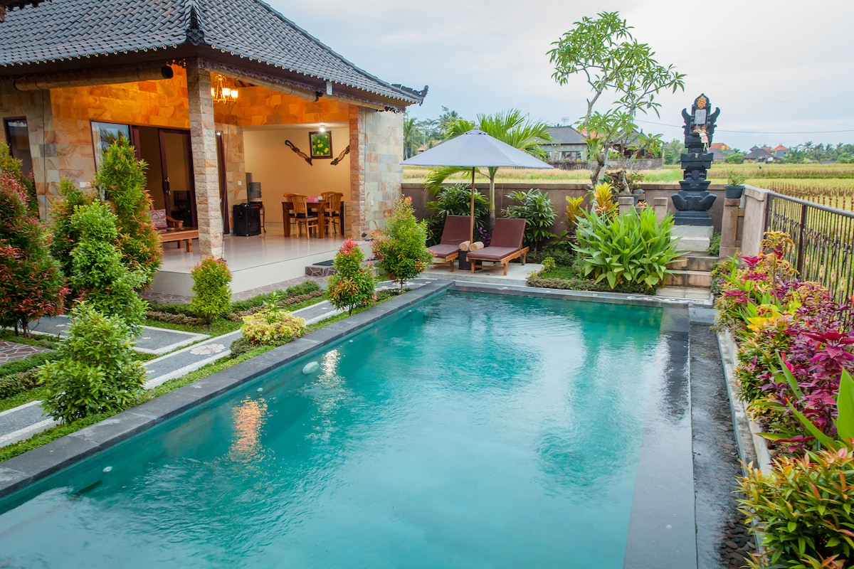 Twin Villa, quiet & relaxed in Ubud