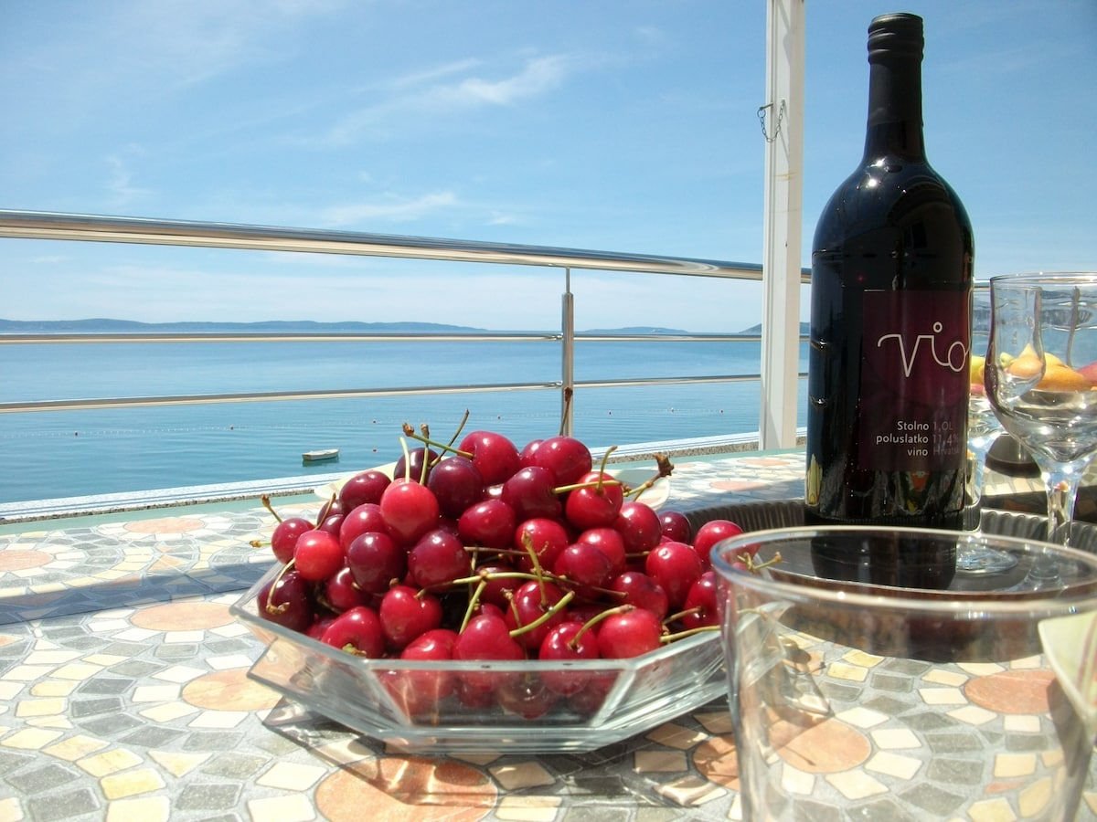 "View from your ""Adriatic Beauty's"", private terrace!"