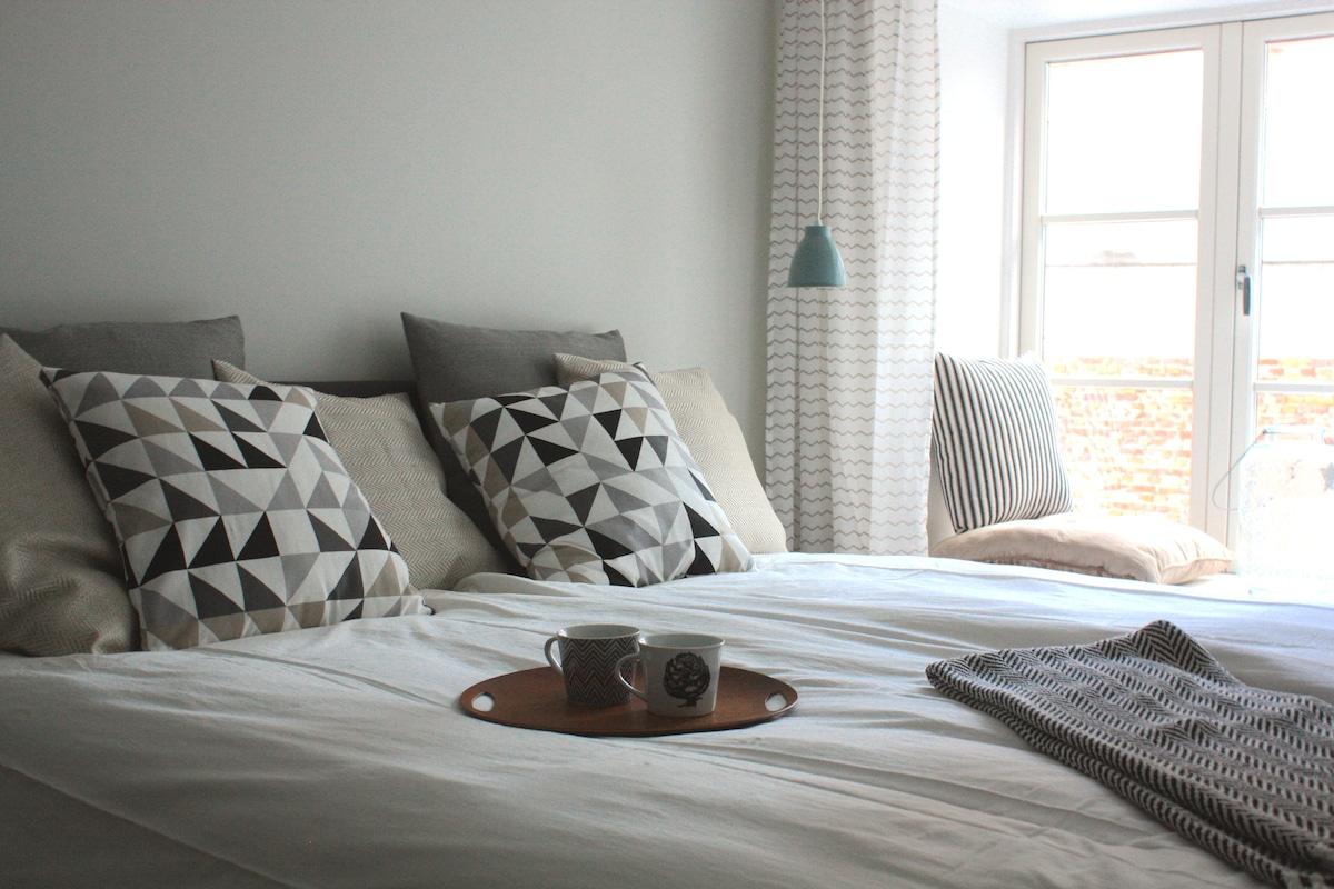 Fresh scandinavian style apartment