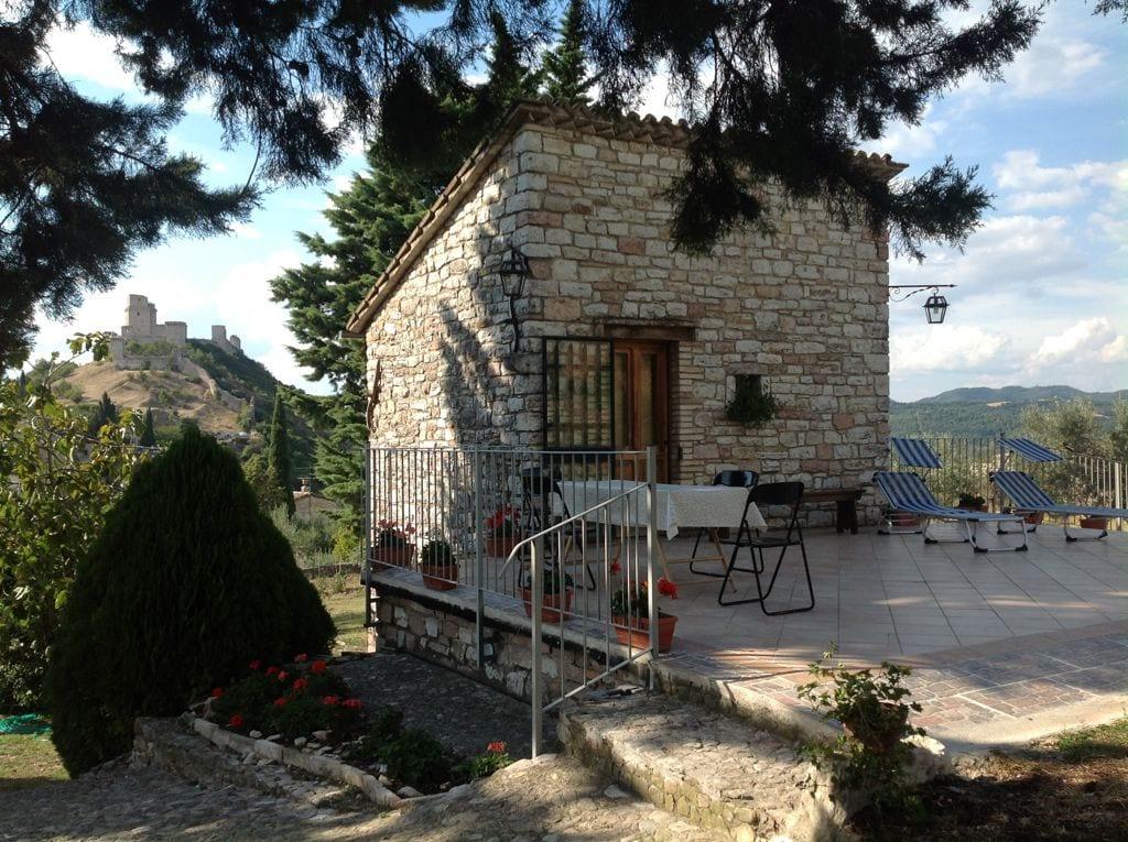 Tor Mammoni villa in Assisi center