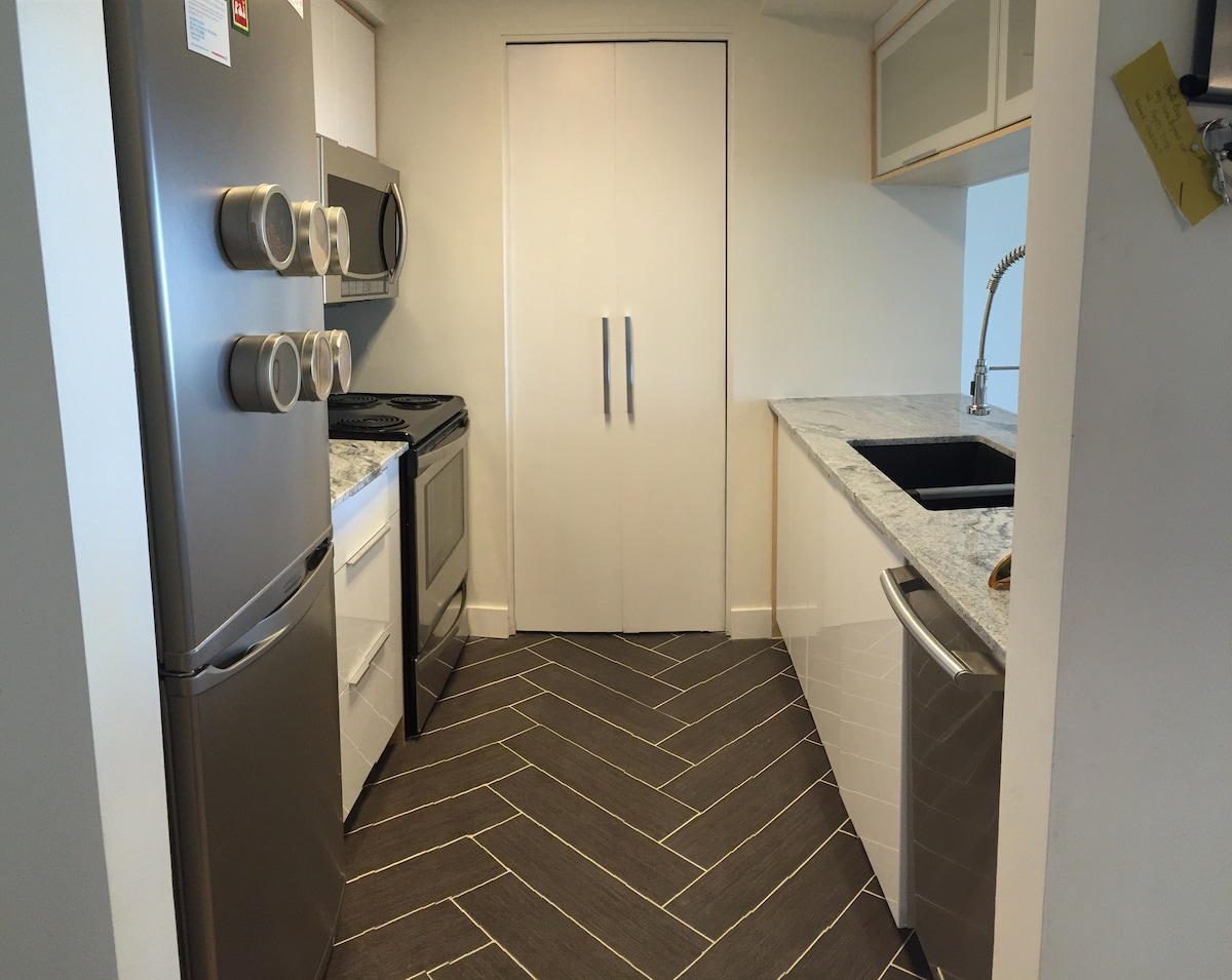 Modern 1BD in trendy Hintonburg