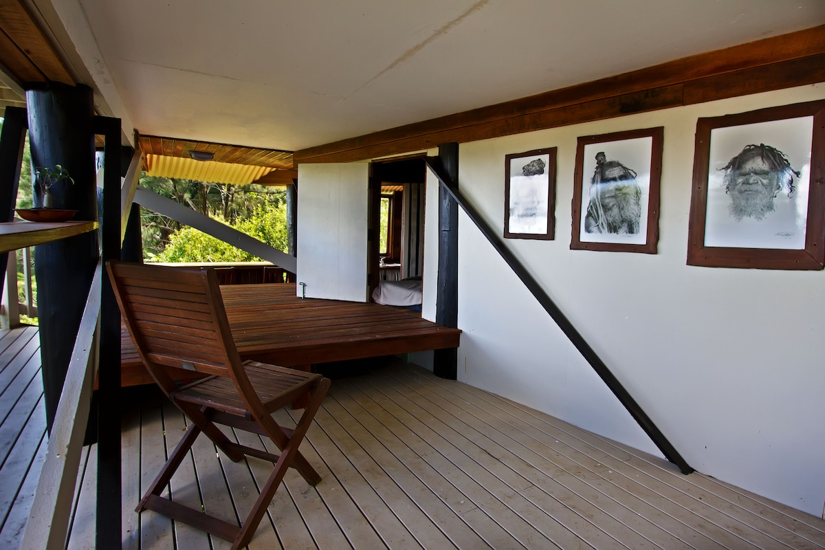 Lions Lookout Treehouse and daybed
