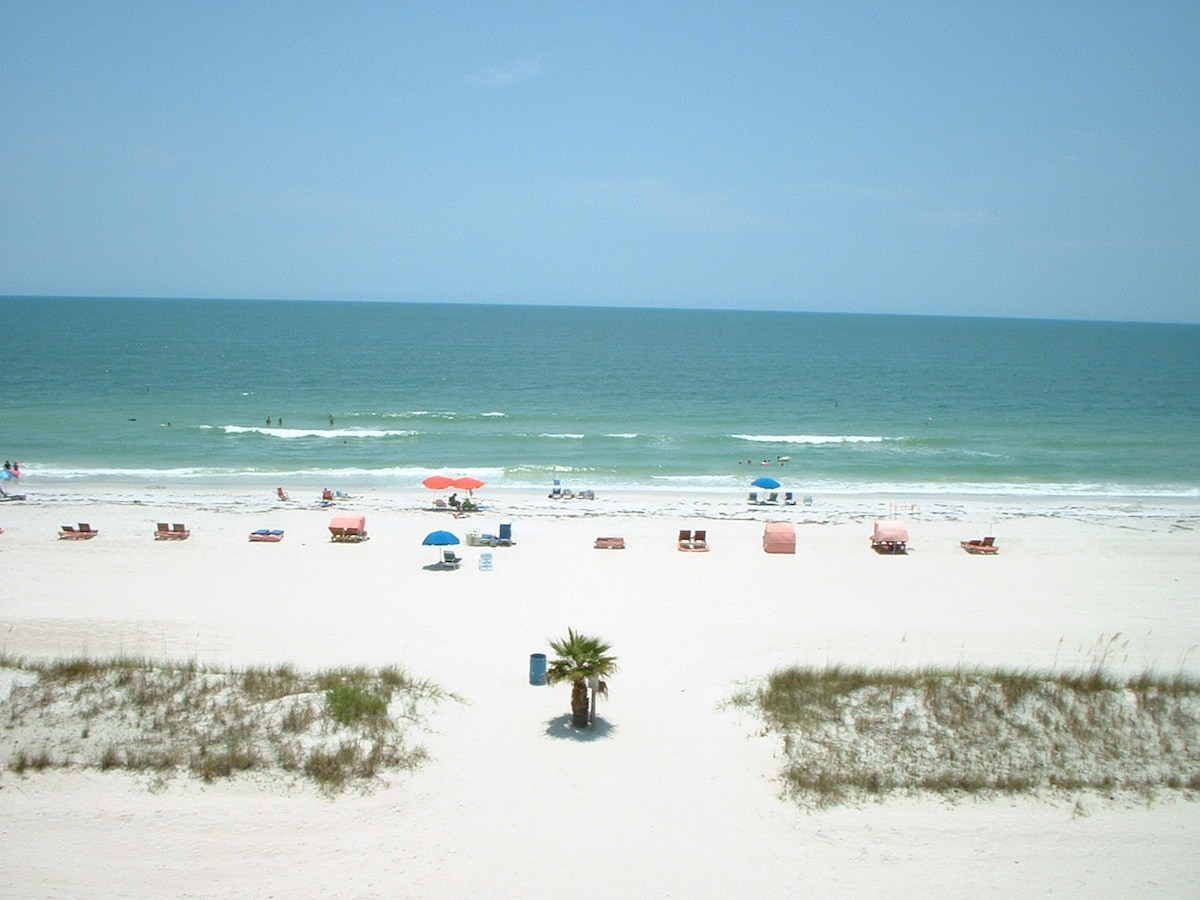 Treasure Island Beach from Island Inn Resort