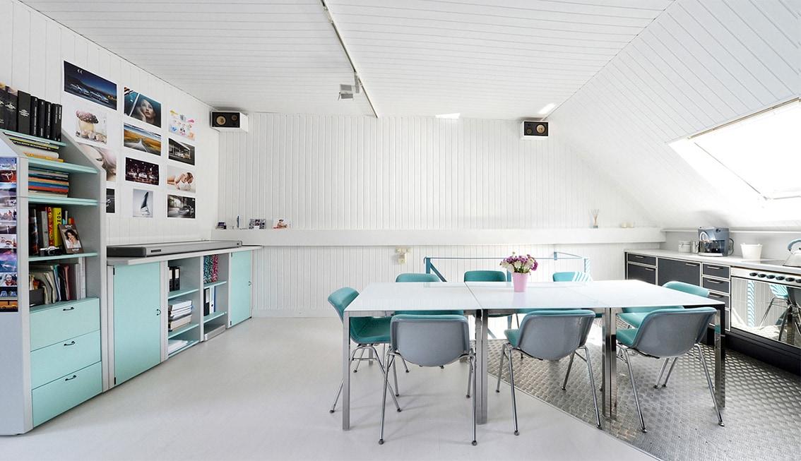 eingangsbereich essbereich und k che. Black Bedroom Furniture Sets. Home Design Ideas