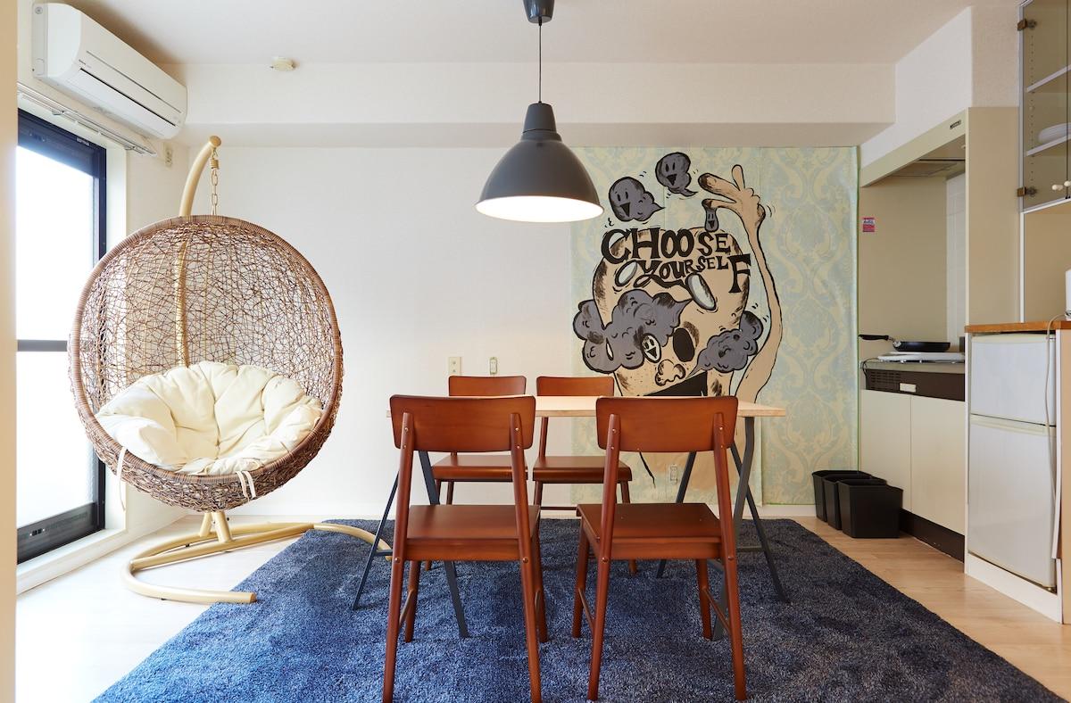 ②Cafe & room(Shibuya/Sangenjaya)
