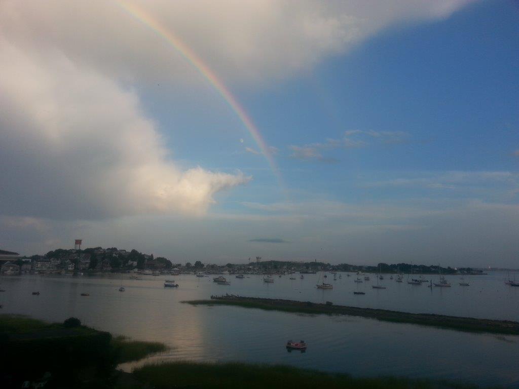 New  Boston Harbor Waterfront