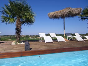 Maison/Appart T3 4/5 pers  piscine