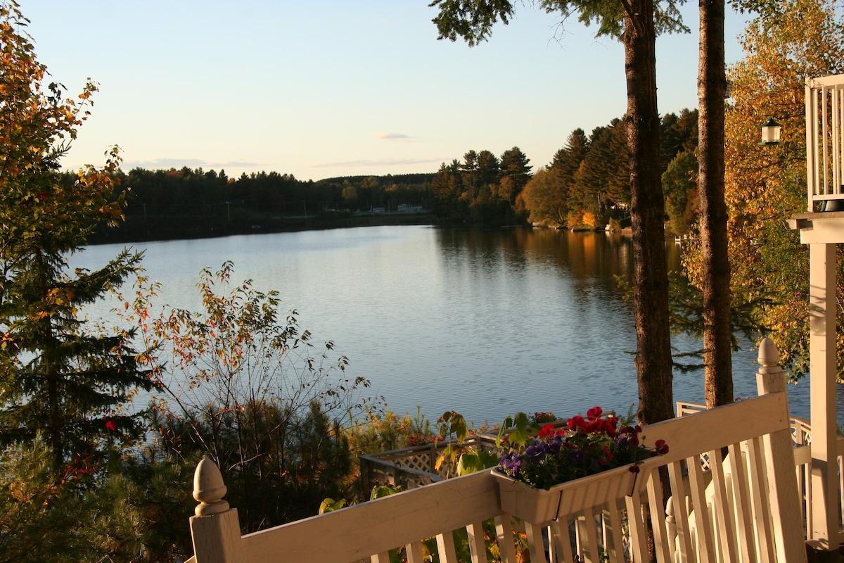 Chalet , splendide bord de lac