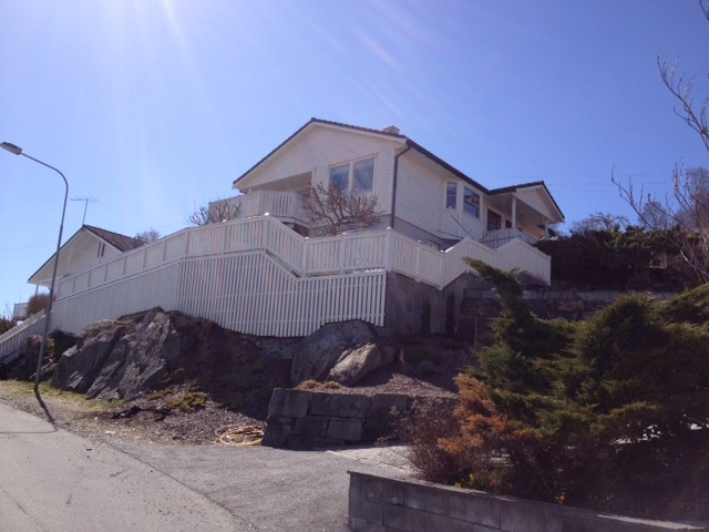 Family home just outside Haugesund