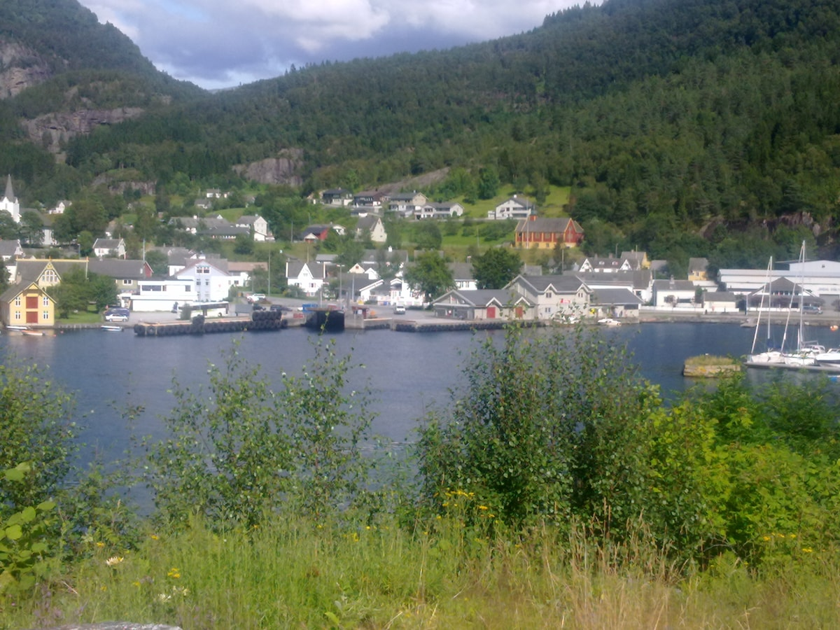 Room 3 -  view of the fjord!