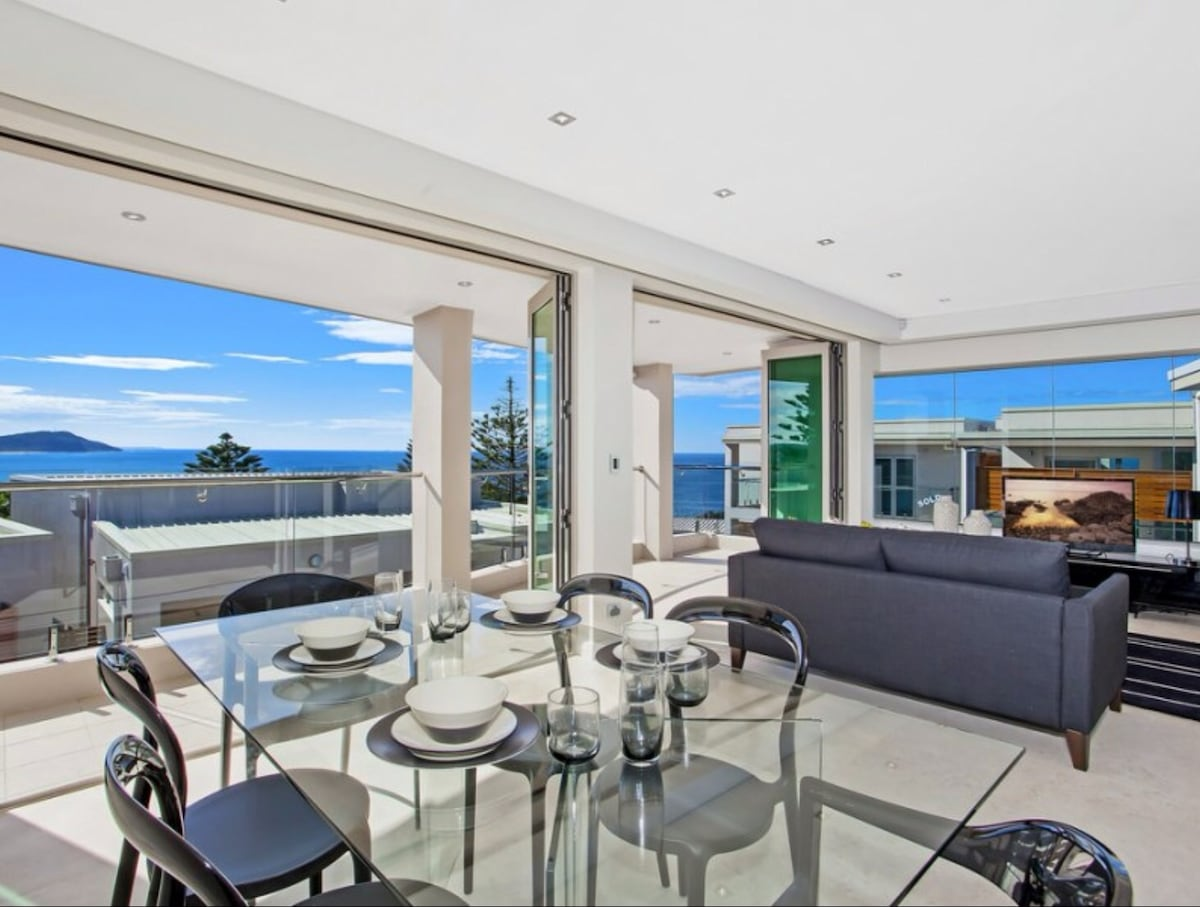 Exclusive Cliff Top Apartment
