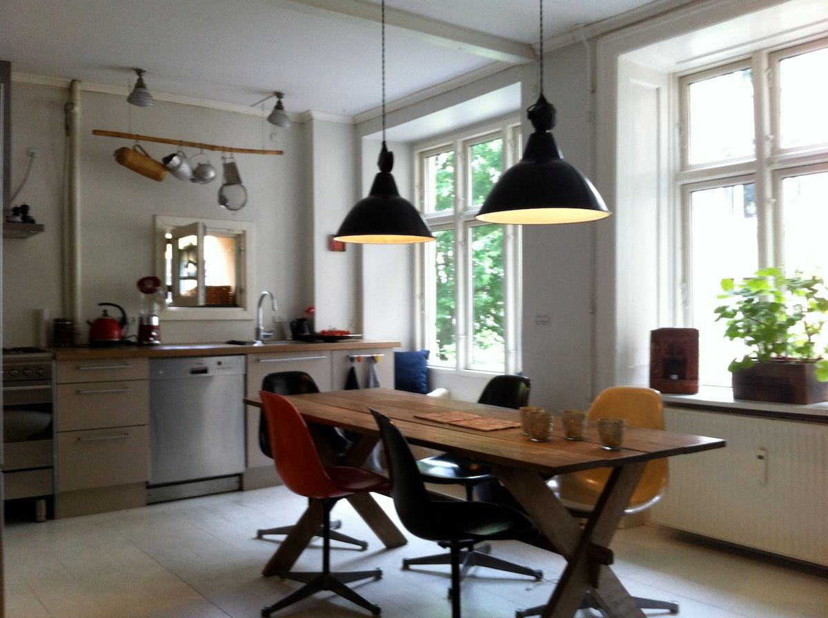 Apartment in the heart of Nørrebro.