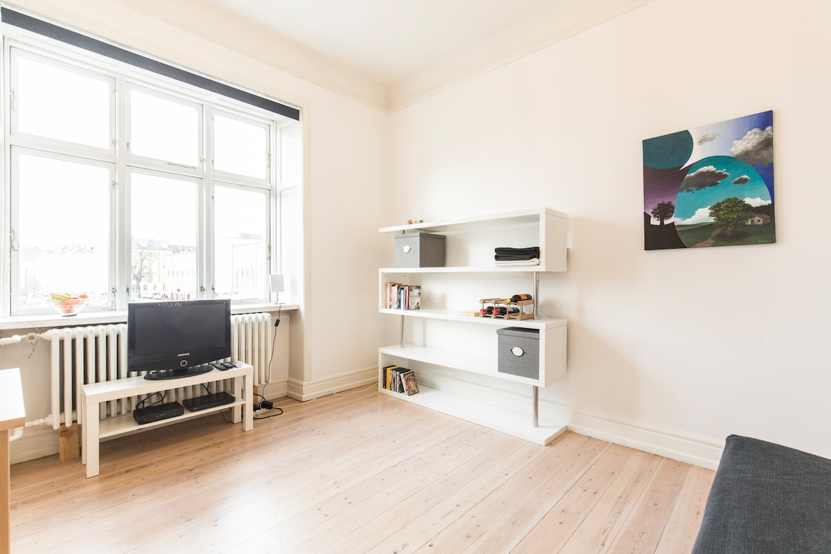 2nd room in the city center
