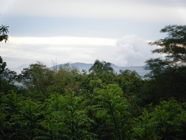 Another view of Masaya Volcano, eight miles away