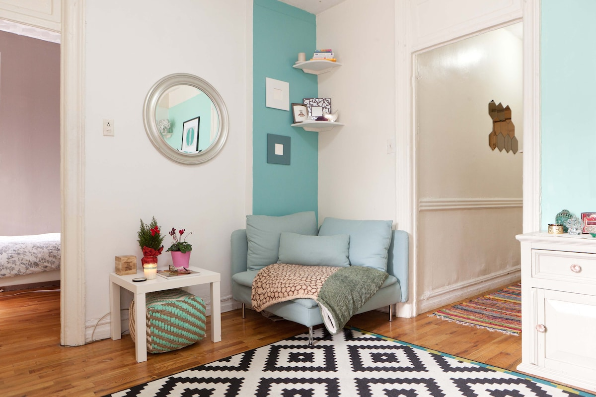 Bright & Big Room in Williamsburg