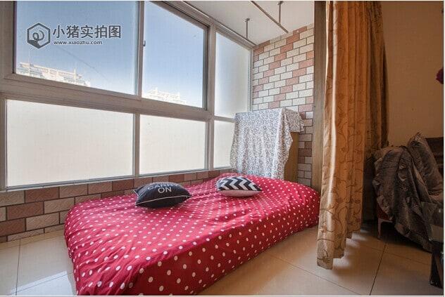big air matress in linliving room