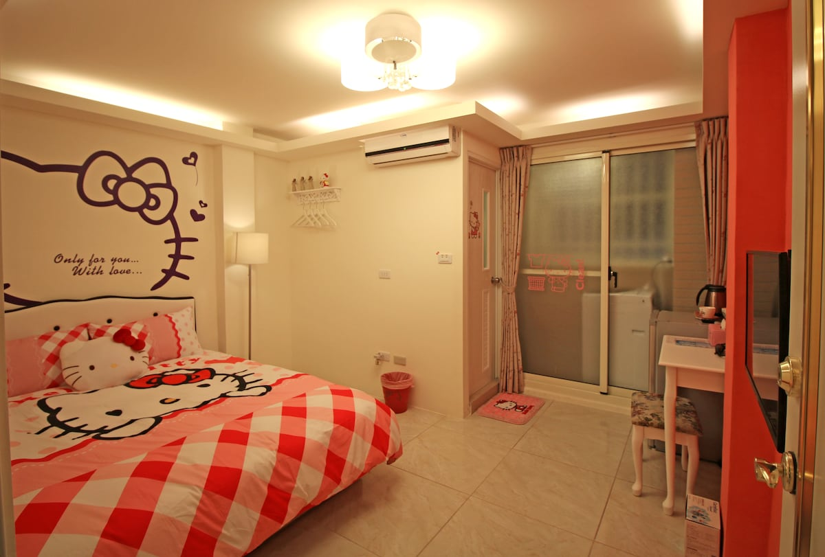 台中逢甲-Kitty room Taichung Fengjia