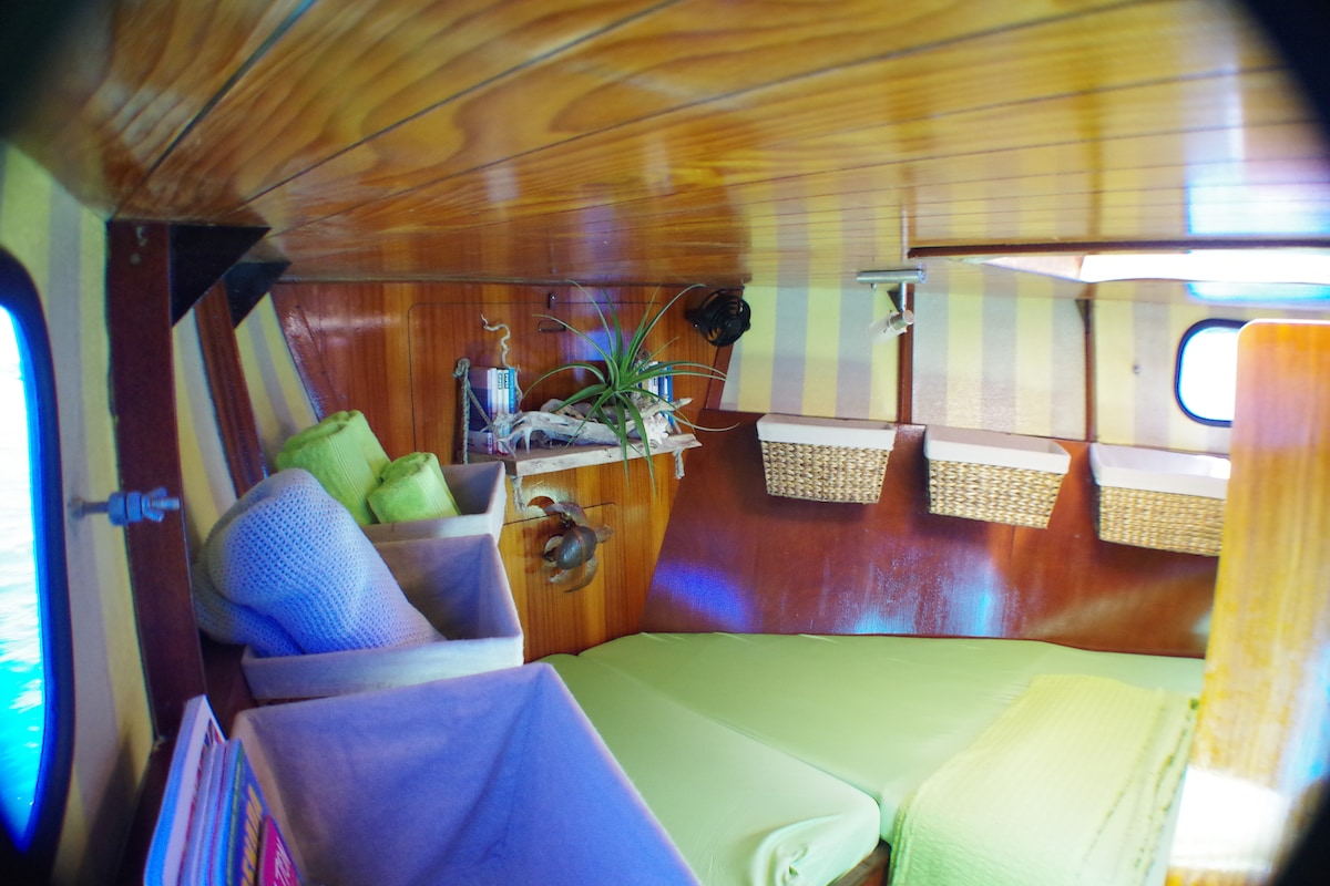 Cozy Cabin on a comfortable Yacht !