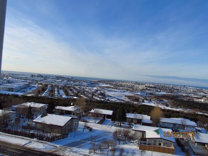 Fantastic view of Reykjavík !