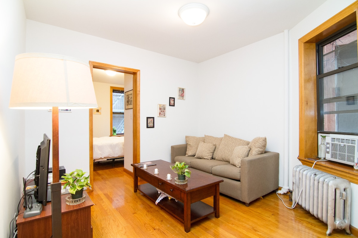 Close to everything, very comfortable, and in the best neighborhood in NYC!
