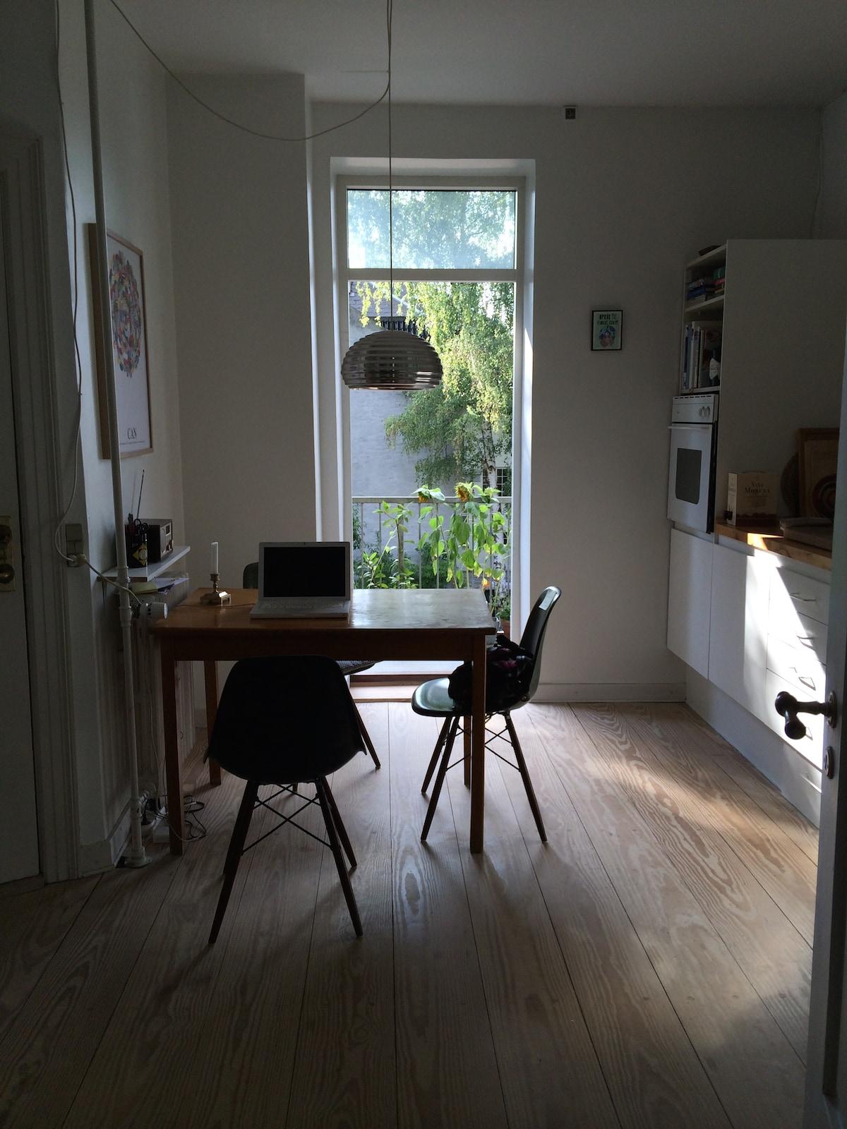 Typical Copenhagen-style flat