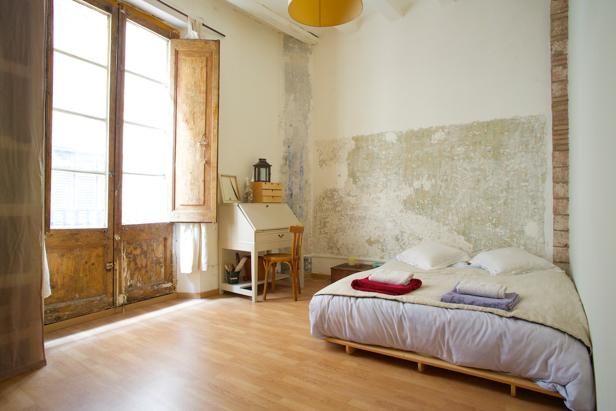 Bohemian space in the heart of Born