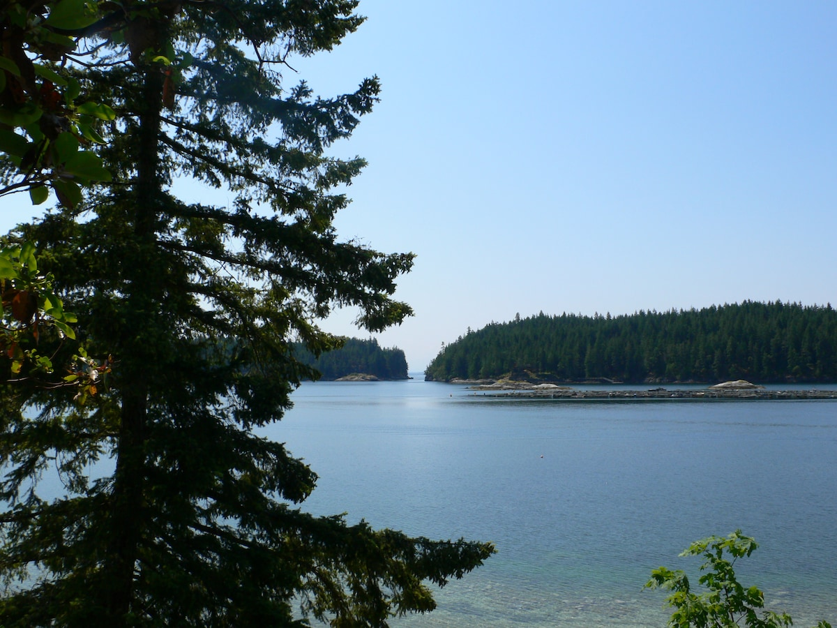 Gorge Harbour Opening, VIew From WIlcox Lodge Deck