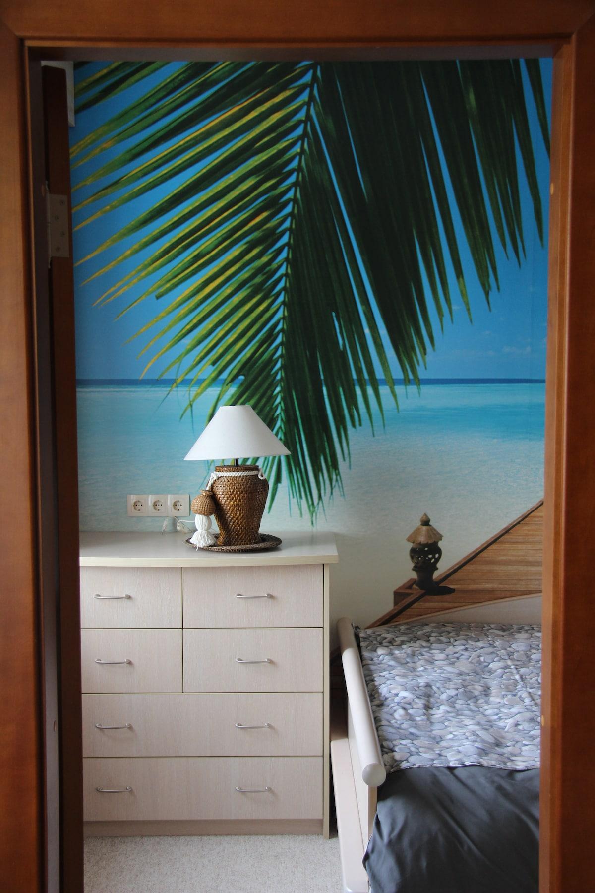 2 room appartment near Gorky Park