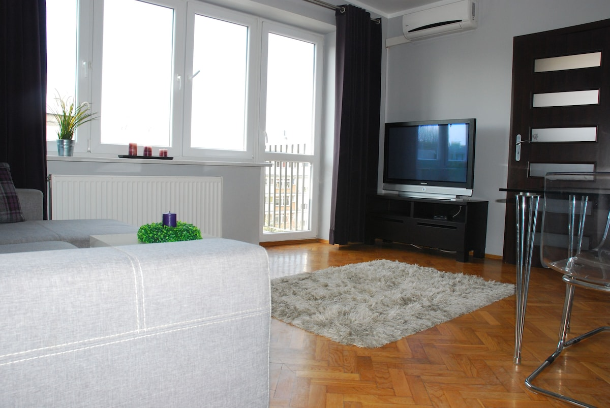 SILVER apartment 200m from MARKET