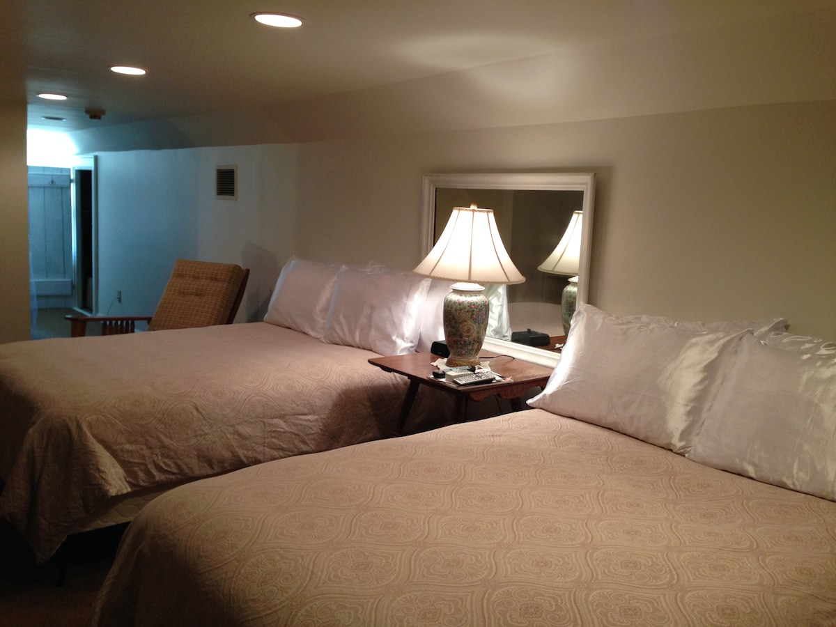 Down Comforters w/ Duvet Covers